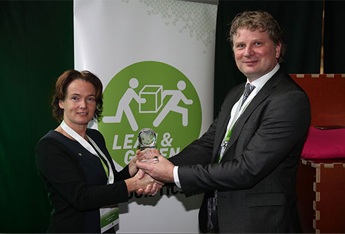 V.V.T. Europa wins Lean & Green award